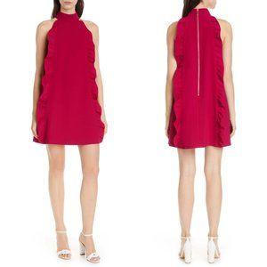 Ted Baker Torriya Ruffle Tunic Dress Pink 4 #2995